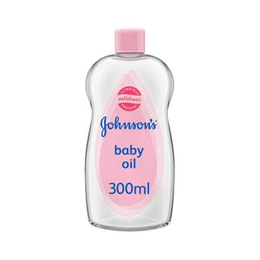 JOHNSONS BABY OIL 300ML