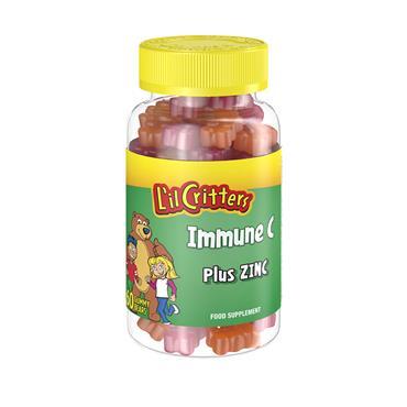 L'IL CRITTERS IMMUNE C PLUS ZINC 60'S