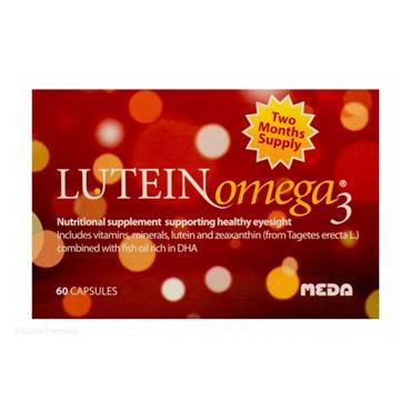 MEDA LUTEIN OMEGA 3 60'S