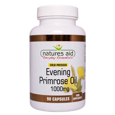 NATURES AID EVENING PRIMROSE OIL 1000MG 90 CAPSULES