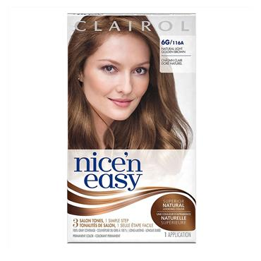 CLAIROL NICE&EASY 6G LIGHT GOLDEN BROWN