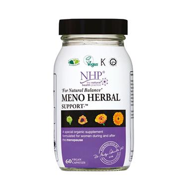 NHP MENO HERBAL SUPPORT 60S