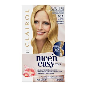 CLAIROL NICE N EASY 10A NATURAL BABY BLONDE