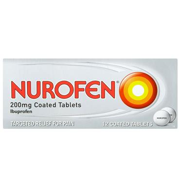 NUROFEN 12 TABLETS
