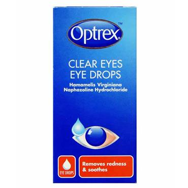 OPTREX CLEAR EYE DROPS 10ML