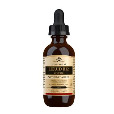 SOLGAR LIQUID B12 2000 UG 59ML