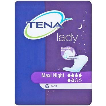 TENA LADY MAXI NIGHTS 6 PADS