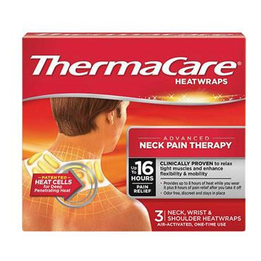 THERMACARE HEAT PATCH NECK WRIST & SHOULDER