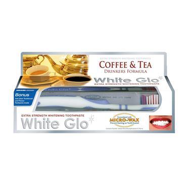 WHITE GLO TEA/COFFEE TOOTHPASTE