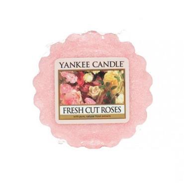 YANKEE FRESH CUT ROSES WAX MELT