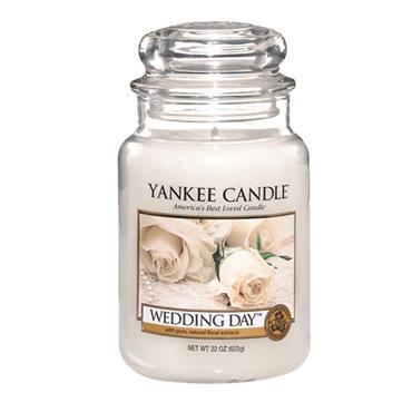 YANKEE WEDDING DAY LARGE JAR