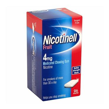 NICOTINELL FRUIT GUM 4MG 96PCS