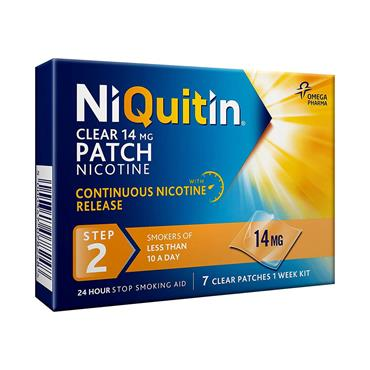 NIQUITIN CLEAR STEP 2 14MG 7S