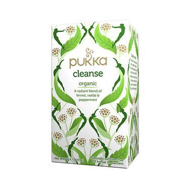 PUKKA CLEANSE ORGANIC FENNEL/NETTLE & PEPPERMINT TEA 20'S