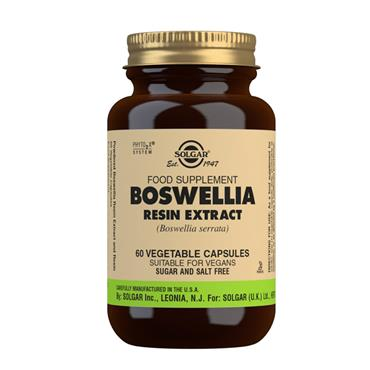 SOLGAR BOSWELLIA 60 VEGETABLE CAPSULES