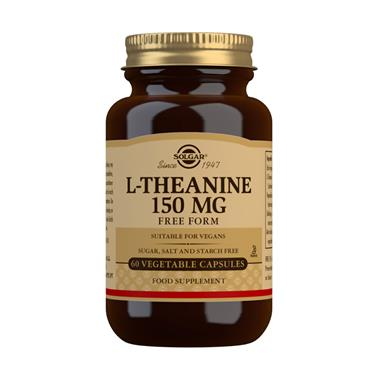 SOLGAR L-THEANINE 150 MG 60 VEGTABLE CAPSULES