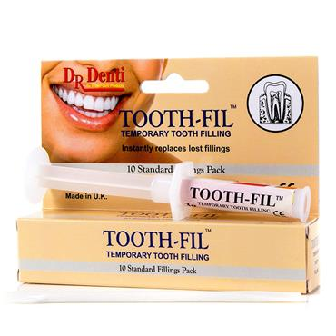 DR DENTI TOOTH-FILL TEMPORARY TOOTH FILLING 10 FILLINGS