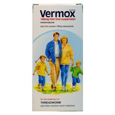 VERMOX SUSPENSION 30ML