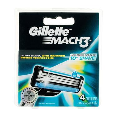 GILLETTE MACH3 BLADES 4