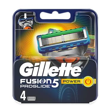GILLETTE FUSION PRO GLIDE POWER BLADE 4