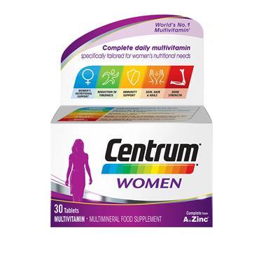 CENTRUM FOR WOMEN MULTIVITAMIN 30'S