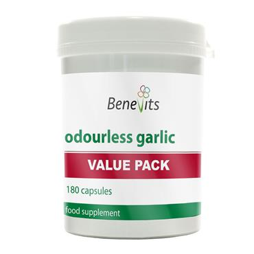 BENEVITS VALUE PACK ODOUR LESS GARLIC 180S