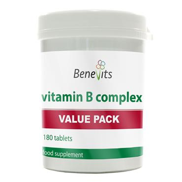 BENEVITS VALUE PACK VITAMIN B COMPLEX 180S