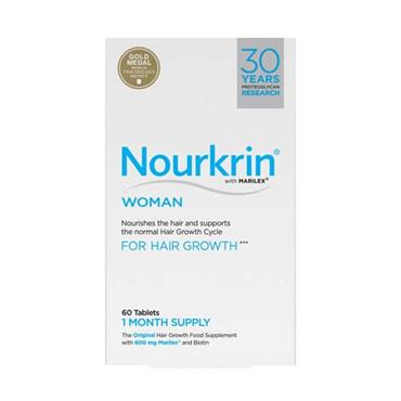 NOURKRIN WOMAN FOR HAIR GROWTH 60 TABLETS