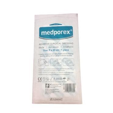 MEDPOREX ADHESIVE DRESSING 9X20CM SINGLE