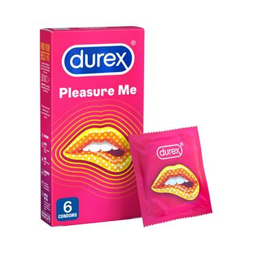 DUREX  PLEASURE ME 6S