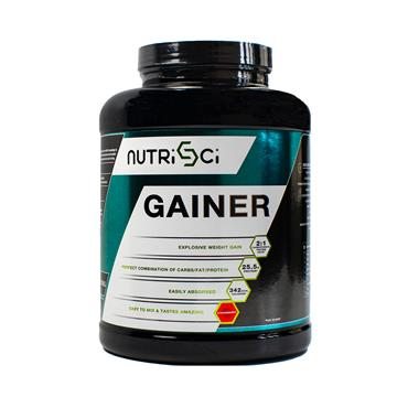 NUTRISCI GAINER STRAWBERRY 2.27KG