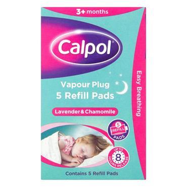 CALPOL VAPOUR PLUG REFILLS 5S