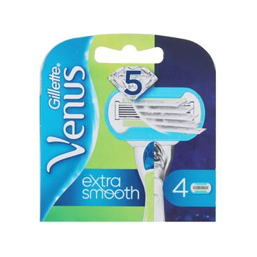 GILLETTE VENUS EMBRACE EXTRA SMOOTH BLADES 4S