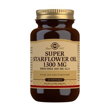 SOLGAR STARFLOWER OIL 1300MG 30 SOFT GELS