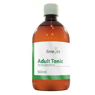 BENEVITS TONIC WITH IRON TROPICAL FLAVOUR 500ML