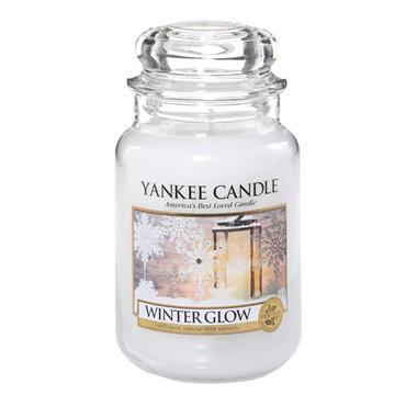 YANKEE WINTER GLOW LARGE JAR