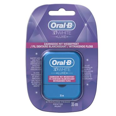 ORAL B 3D LUXE FLOSS 35M