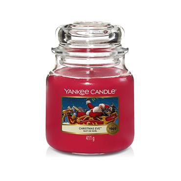 YANKEE CHRISTMAS EVE MEDIUM JAR CANDLE