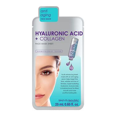 SKIN REPUBLIC HYALURONIC ACID FACE MASK SHEET
