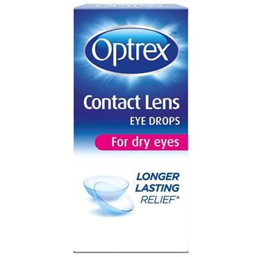 OPTREX CONTACT LENS EYE DROPS 10ML