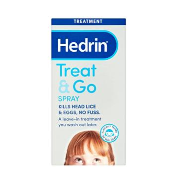 HEDRIN TREAT & GO SPRAY 60ML