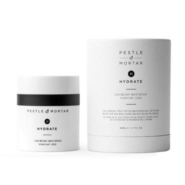 PESTLE & MORTAR HYDRATE LIGHTWEIGHT MOISTURISER 50ML