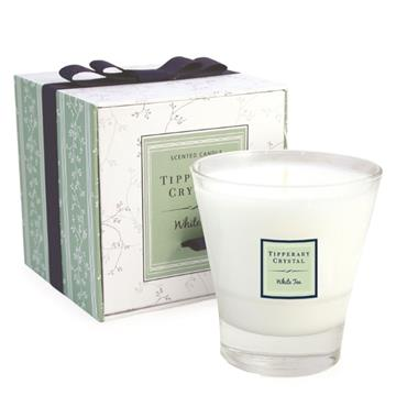 TIPPERARY CRYSTAL WHITE TEA CANDLE