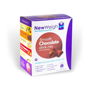 NEW WEIGH MEAL REPLACEMENT PLAN CHOCOLATE DRINK MIX 7 SACHETS