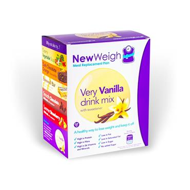 NEW WEIGH MEAL REPLACEMENT PLAN VANILLA DRINK MIX 7 SACHETS