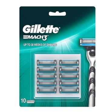 GILLETTE MAC 3 10 BLADES BBP