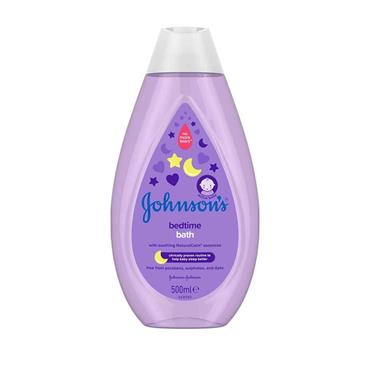 JOHNSONS BEDTIME BATH 500ML