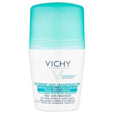 VICHY NO MARKS ROLL ON ANTI-PERSPIRANT 50ML