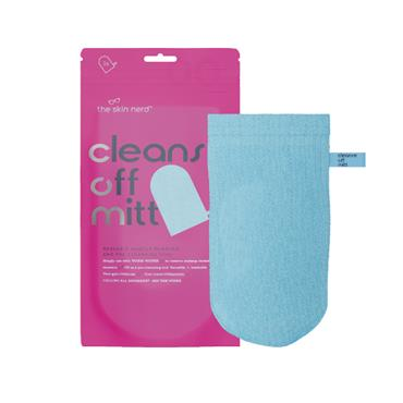 CLEANSE OFF MITT BLUE