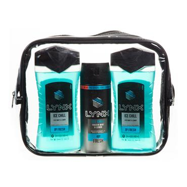 LYNX TRIO ICE CHILL GIFT SET